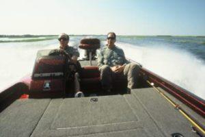 Kissimmee bass fishing guide ride
