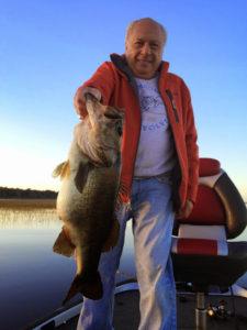 Lake Toho fishing guide fish
