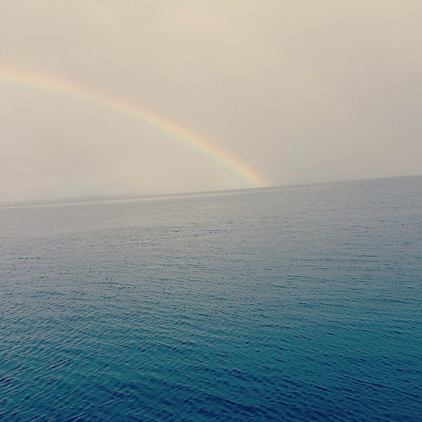 Lake Toho rainbow