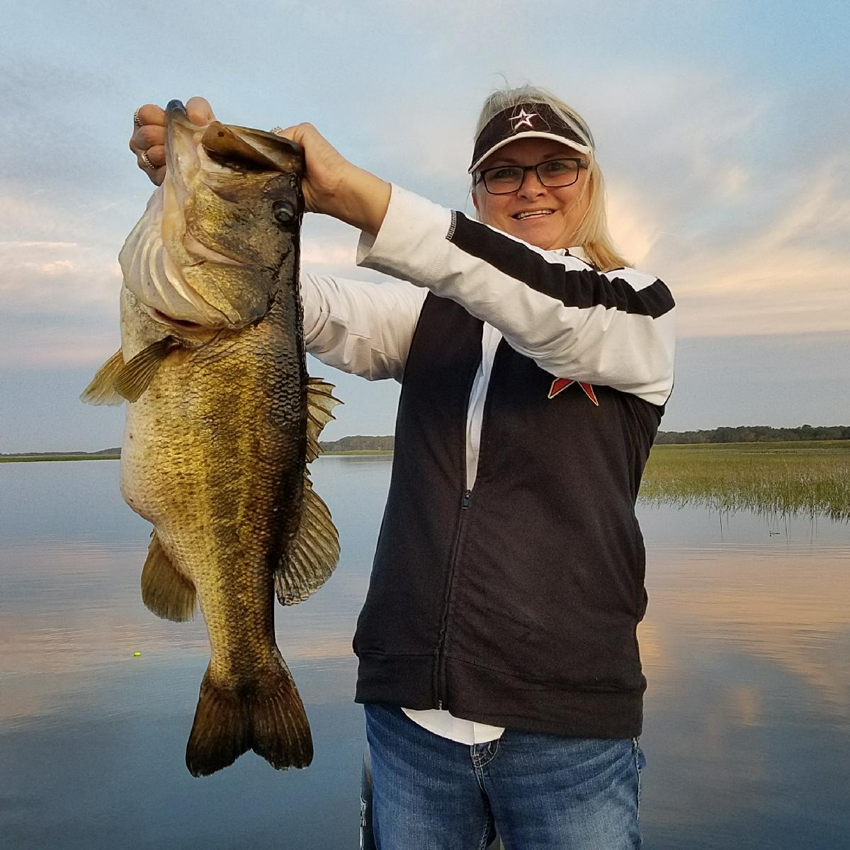 Giant Lake Toho bass