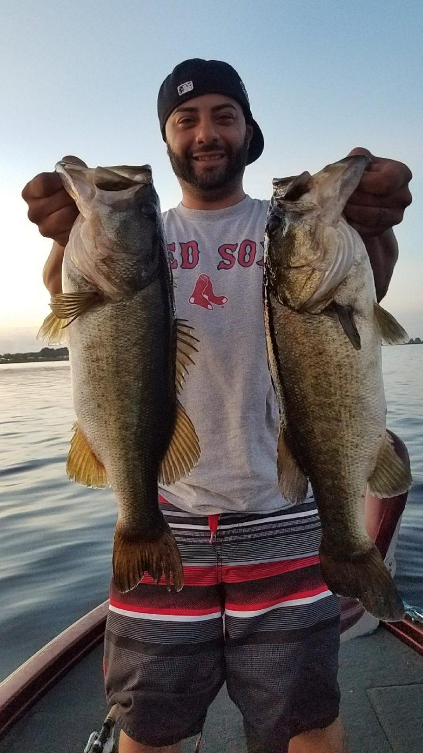 Doubled up Lake Toho giants