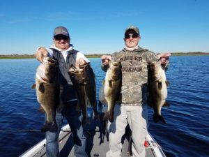 34 pound bag of Orlando bass fishing