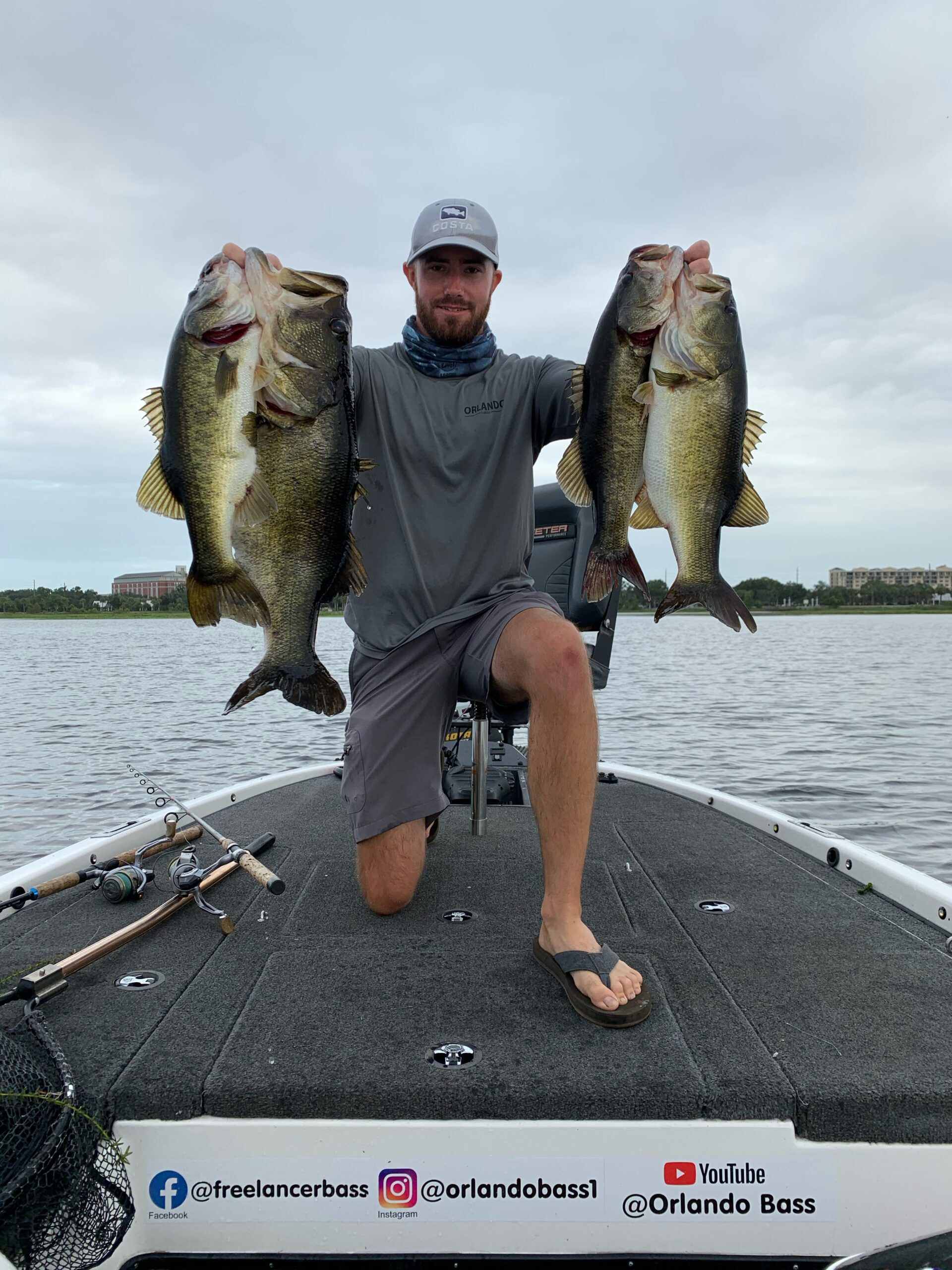 Orlando's Lake Toho mega bag