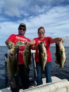Another great bag of Lake Toho bass