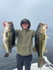 Two big Lake Toho bass
